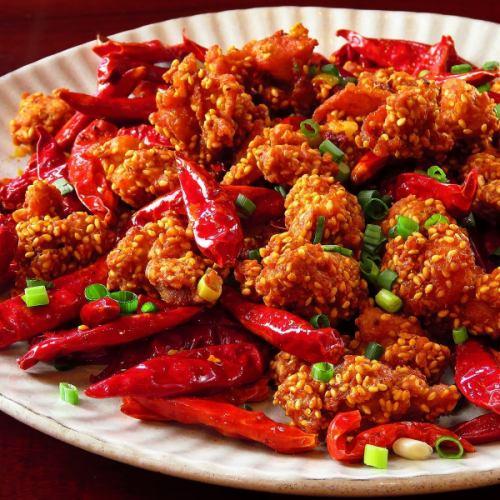 楊特製 四川風麻辣鶏肉