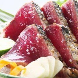 【高知贅沢コース】土佐赤牛・カツオ塩のタタキ・ウナギ・高知野菜他◆全11品7000円(飲物別)◆