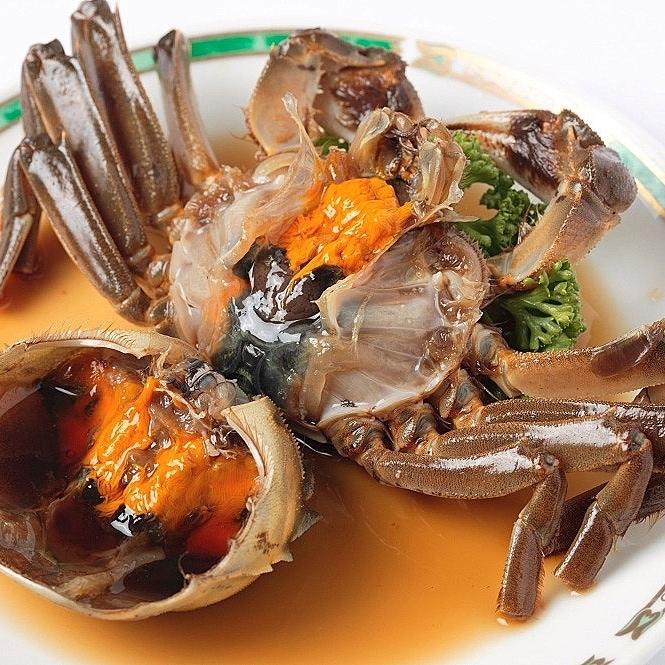 【秋限定】上海蟹料理など!旬の食材で味わう本格中華♪
