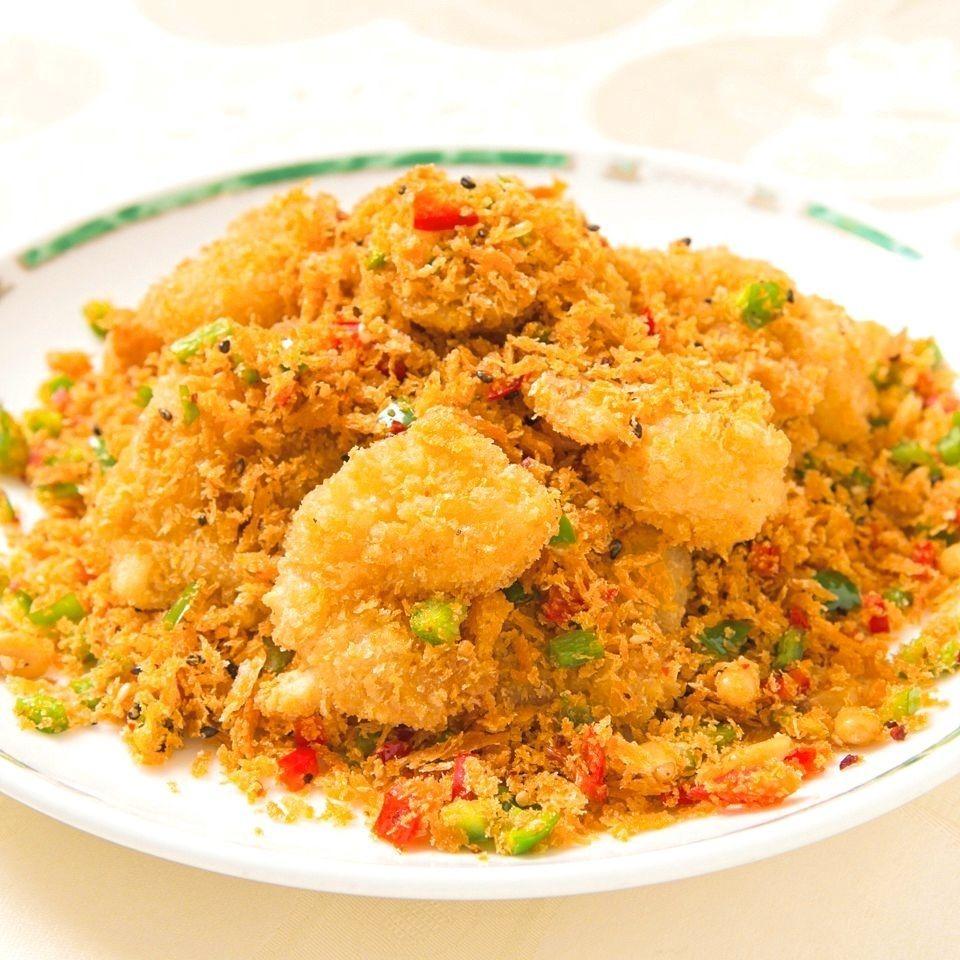炒蝦醬蒜松醬