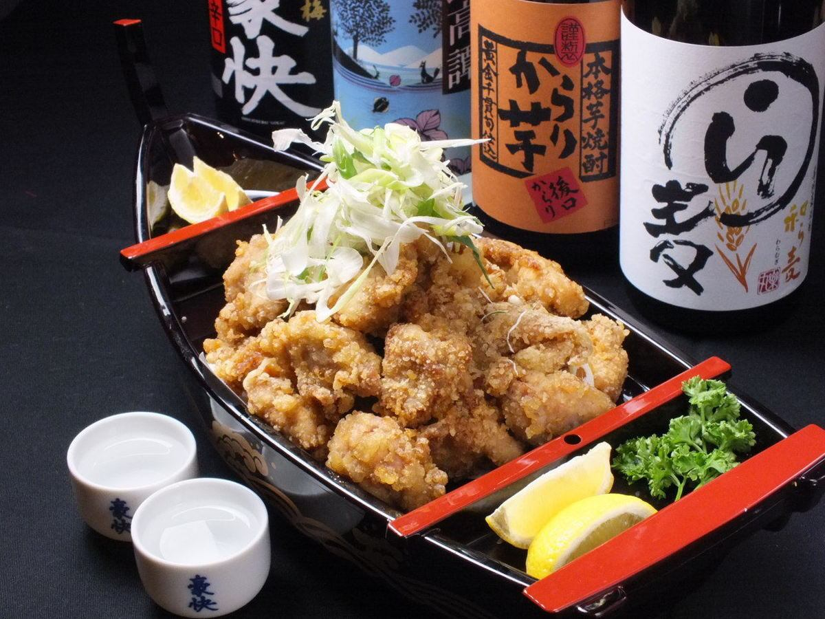 "Recommended popular NO, 1 !! Even so, everyone gets on their belly with ""Fried Chicken"" served in prime!"