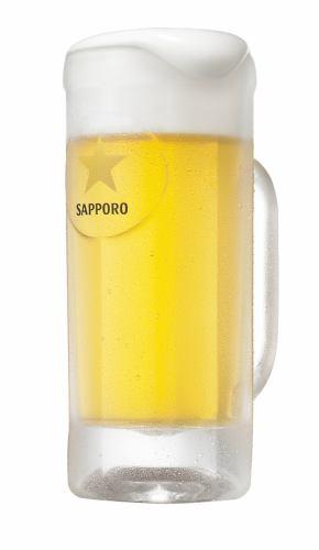 ハッピーアワー15時より、生ビール299円(税別)