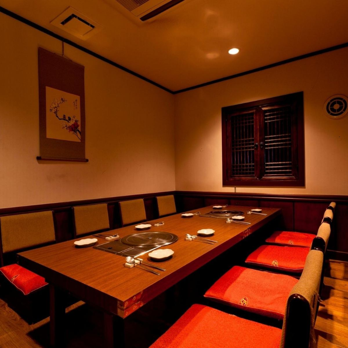 Space where you can forget the hustle and bustle of the city.We can guide you in all the private seats.
