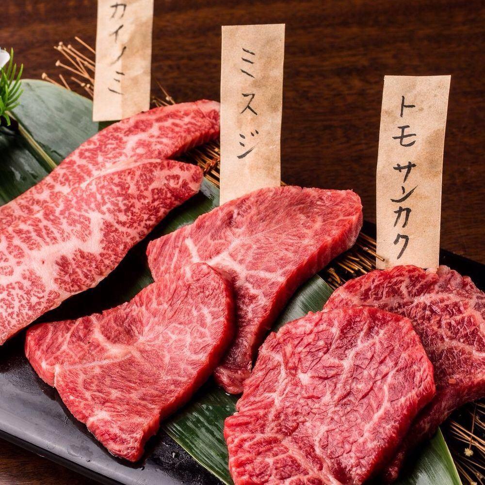 A5 rank Japanese beef specialty House private room Yakiniku Shinjuku Baekje (stupid)