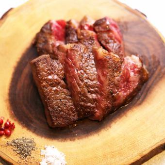 北海道知床黒毛和牛ステーキ<霜降り 120g>