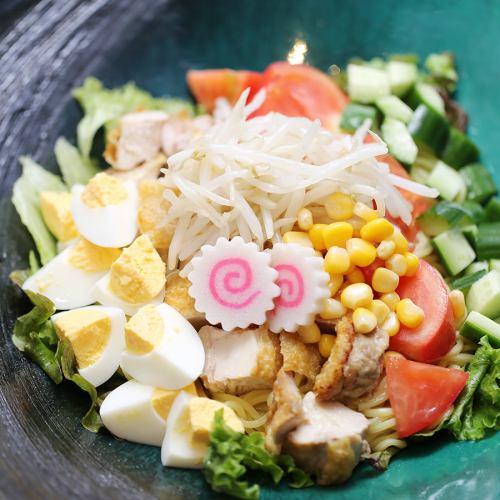 札幌味噌ラーメンサラダ