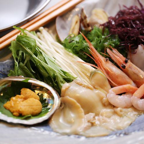 海鮮鮑魚Sha鍋