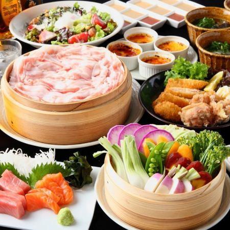 【高级套餐】全部8件♪2.5小时,所有你可以喝5,500日元(含税)