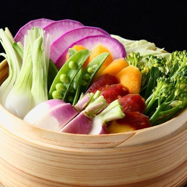 【季節のおすすめメニューご提供中】旬な食材を中心としたメニューのラインナップ!