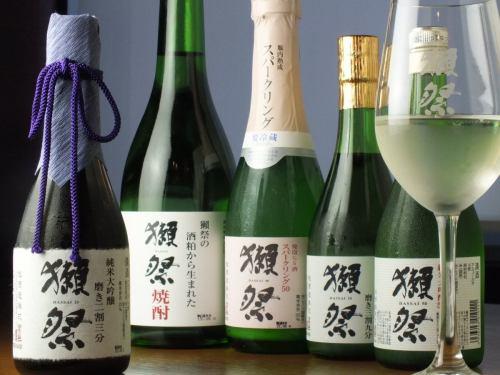 流行りの日本酒もこだわり