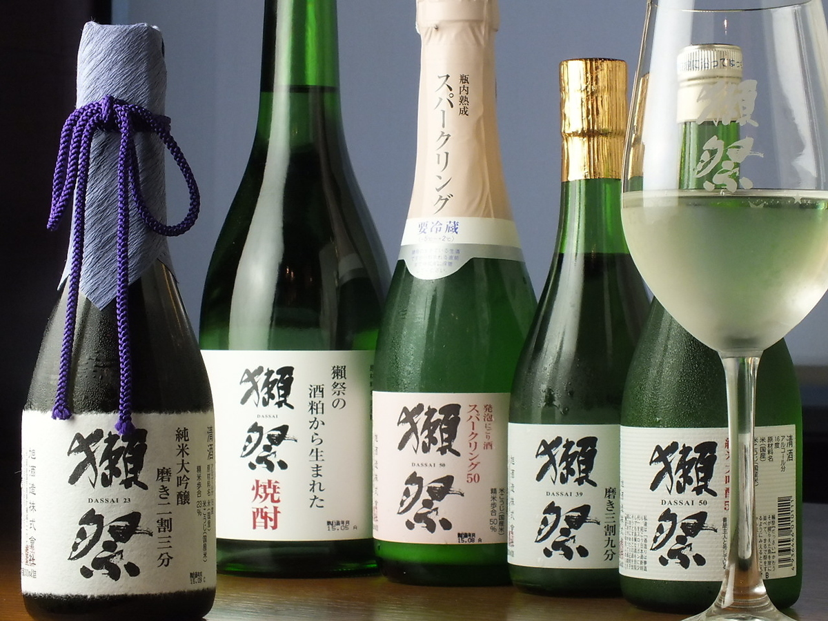 Selection of carefully selected sake !! Together with healthy Japanese food ♪