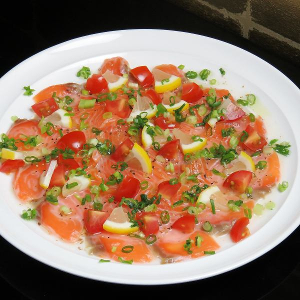 Fresh fish carpaccio