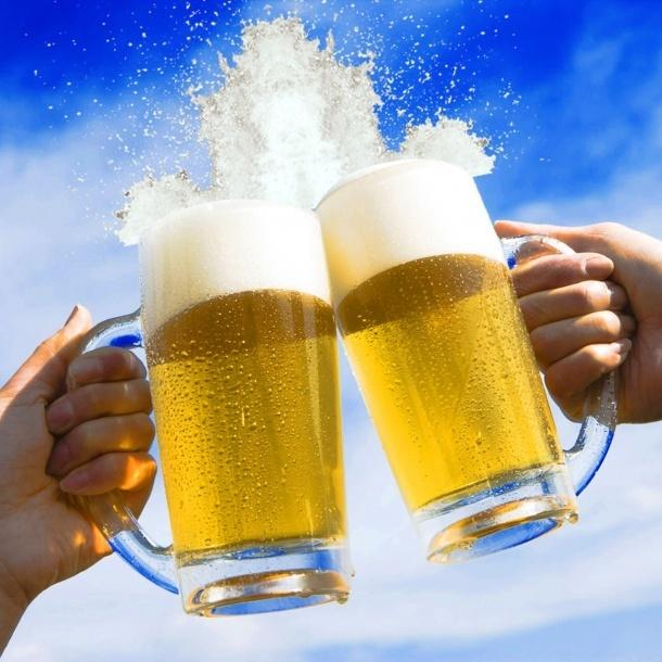 生啤酒!!