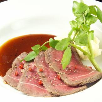 150g 牛フィレ肉のソテー (バルサミコソース)