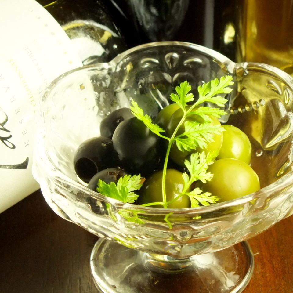 醃製綠橄欖