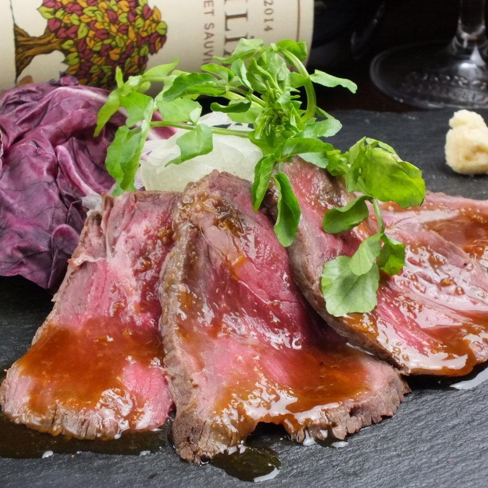 自製醬烤牛肉