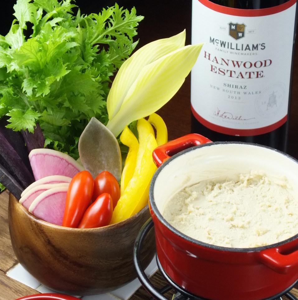 特殊蔬菜Bagna cowder