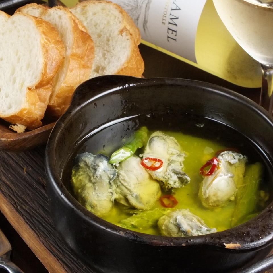 廣島縣牡蠣和蘆筍ahijo