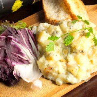 Gorgonzola potato Baked