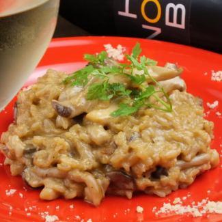 Cream risotto of porcini