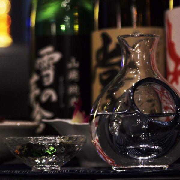 厳選した日本酒〈1合〉