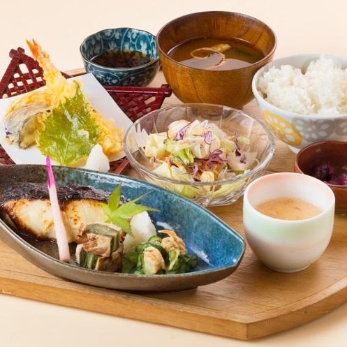 Snow Nishikyo味噌Yakin和天婦羅套餐