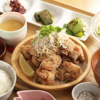 명물! 충만 보장! 튀김 마운틴 정식 후지산 (250g) / 몽블랑 (350g)