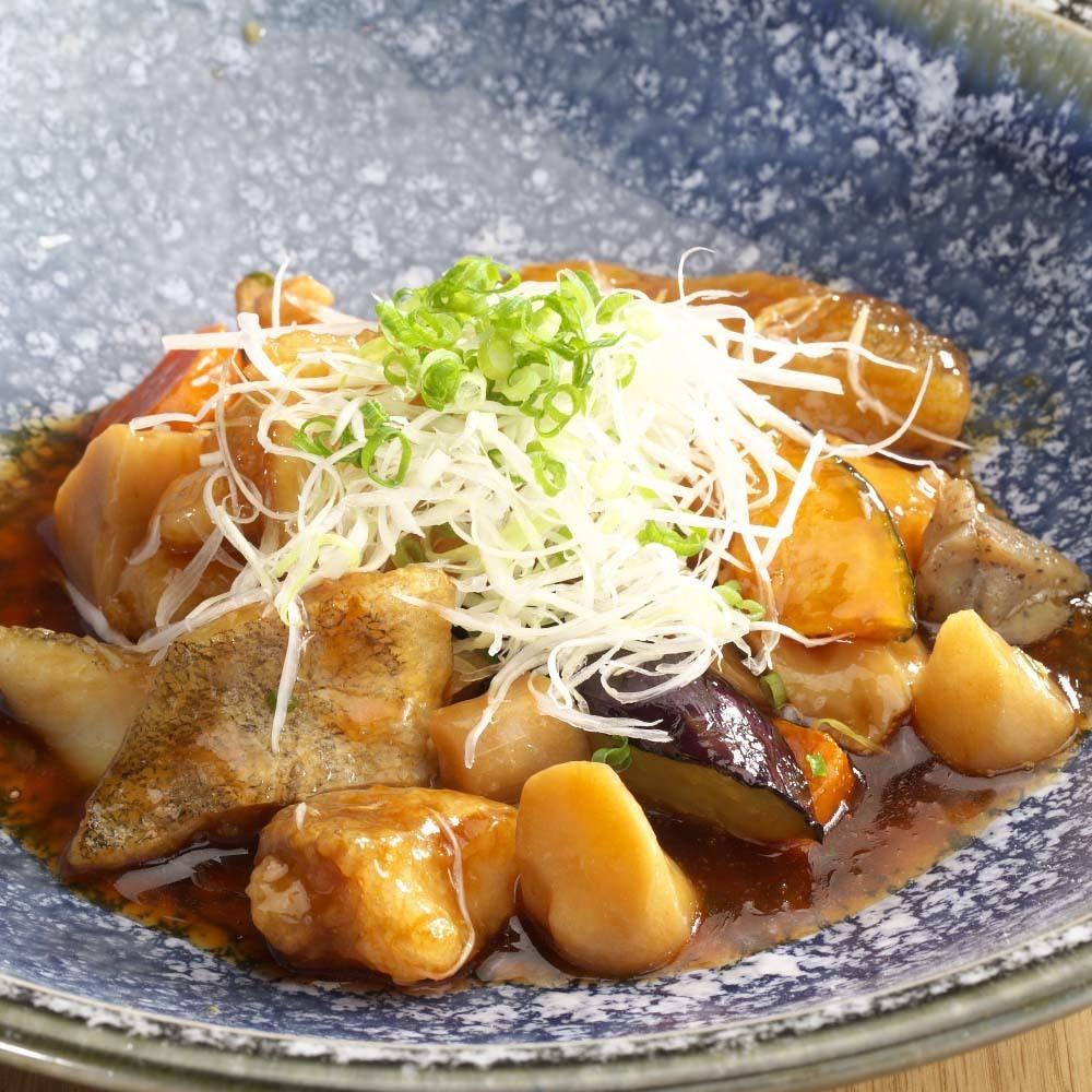 鱈魚和黑根醋醬(一項)