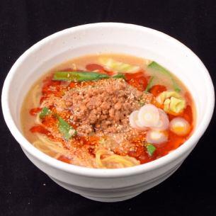 Sour hot water noodles