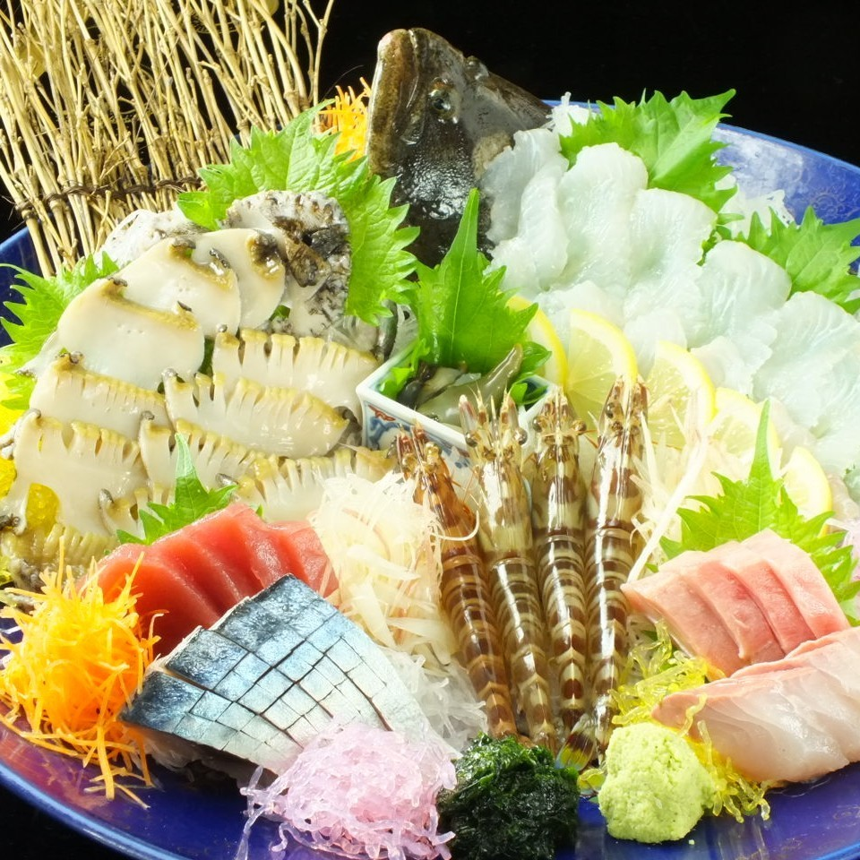 Special (Natural southern tuna middle Toro · active abalone etc. special selection seafood)