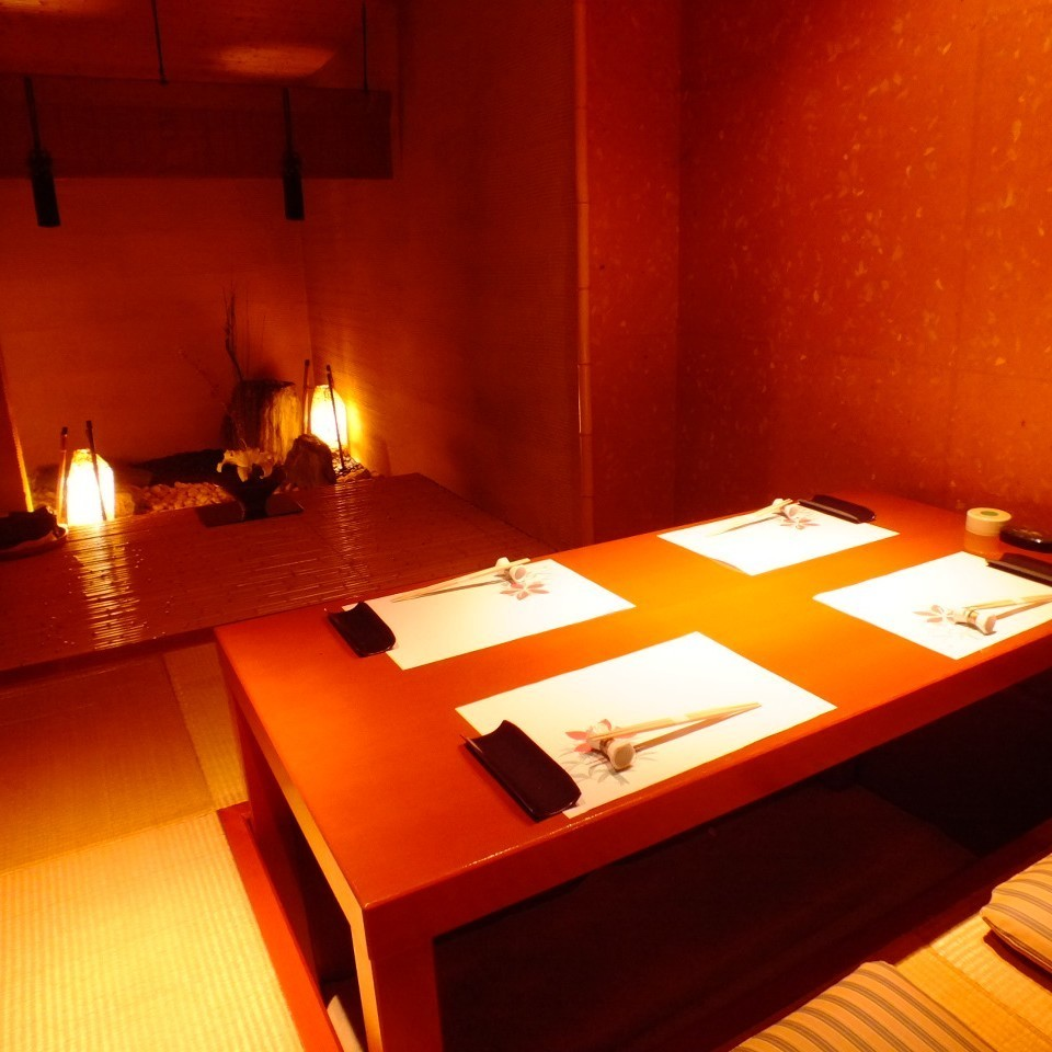 【Between Tachibana】 It is a fully-private room for 2 to 4 people.
