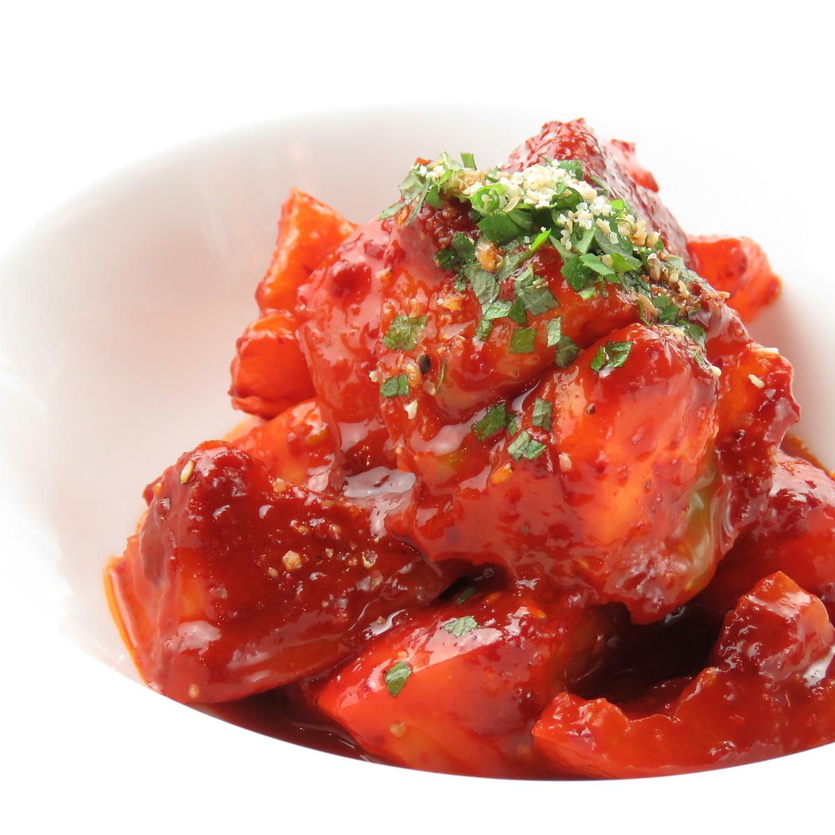 情熱のトマトキムチ