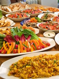 【Private Limited Of 25 people】 2 Hour Drinks Delivery Buffet Course ★ 3000 Yen ~