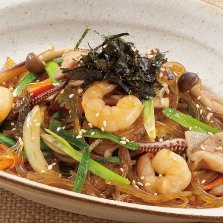 旬野菜と海鮮チャプチェ (醤油味or塩味)
