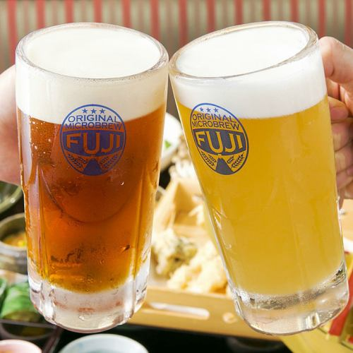 当店オリジナルクラフト地ビール