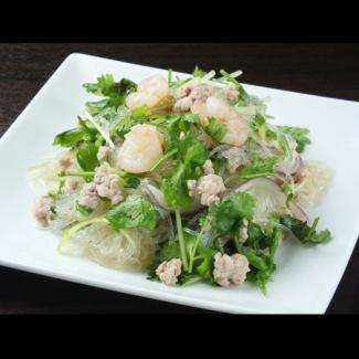 Yamuunsen Thai vermicelli salad