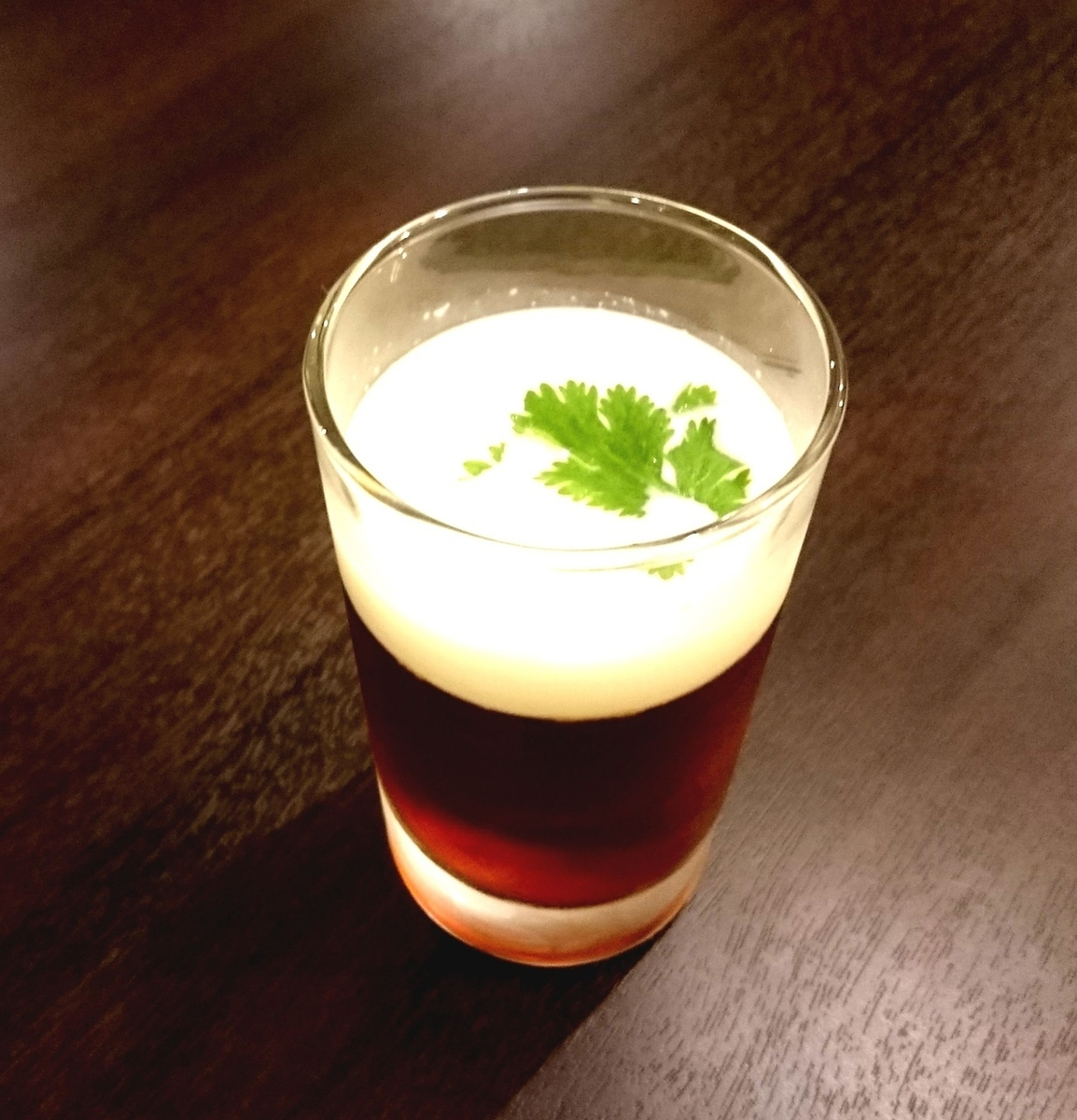 泰国茶果冻椰奶