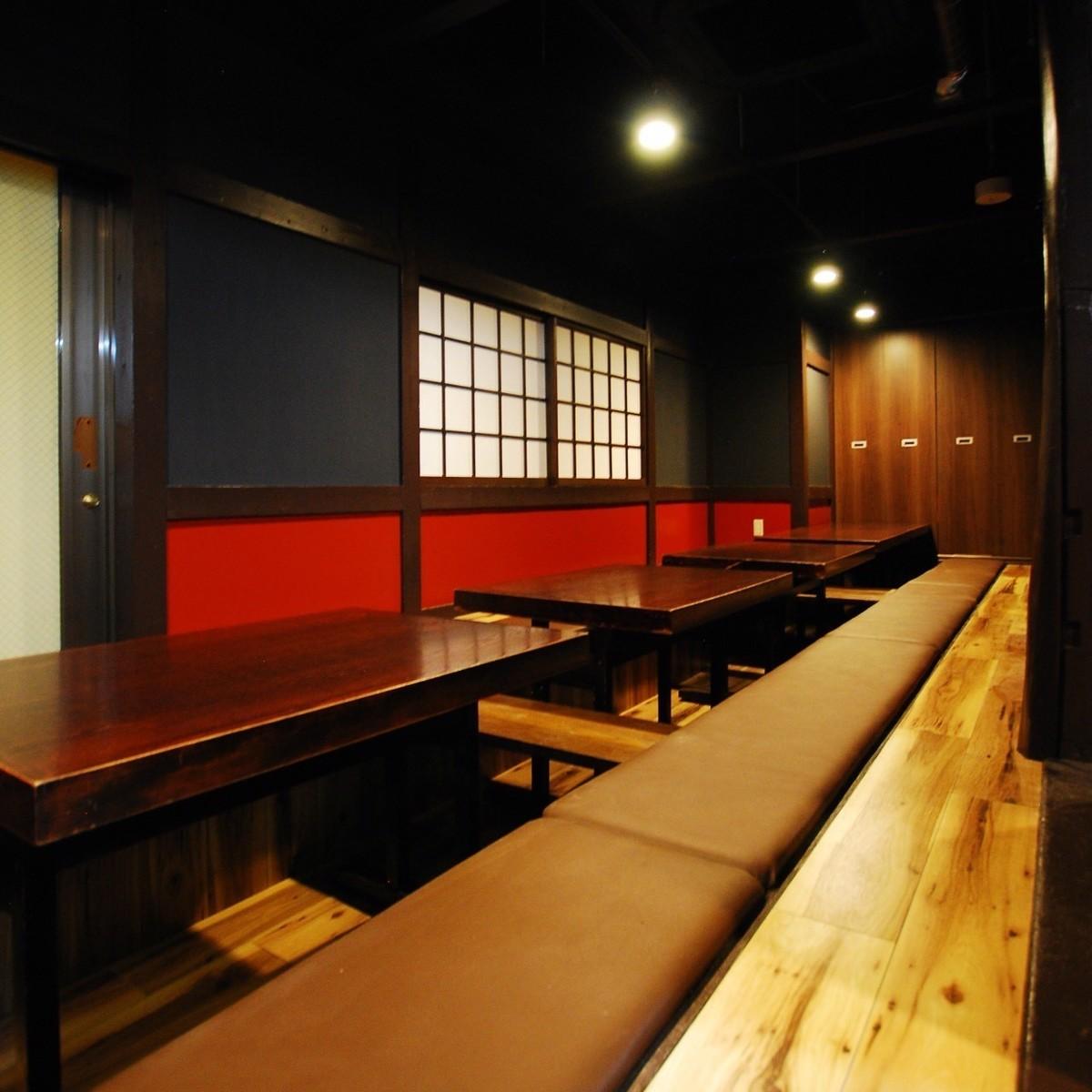 ♪大约20人的饮酒派对与一个小团体的位置♪【居酒屋Yakitori饮料尽可能多的Atsugi】