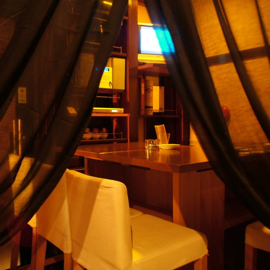 A popular private room can be used from 2 people.Mood in the space where it felt ◎