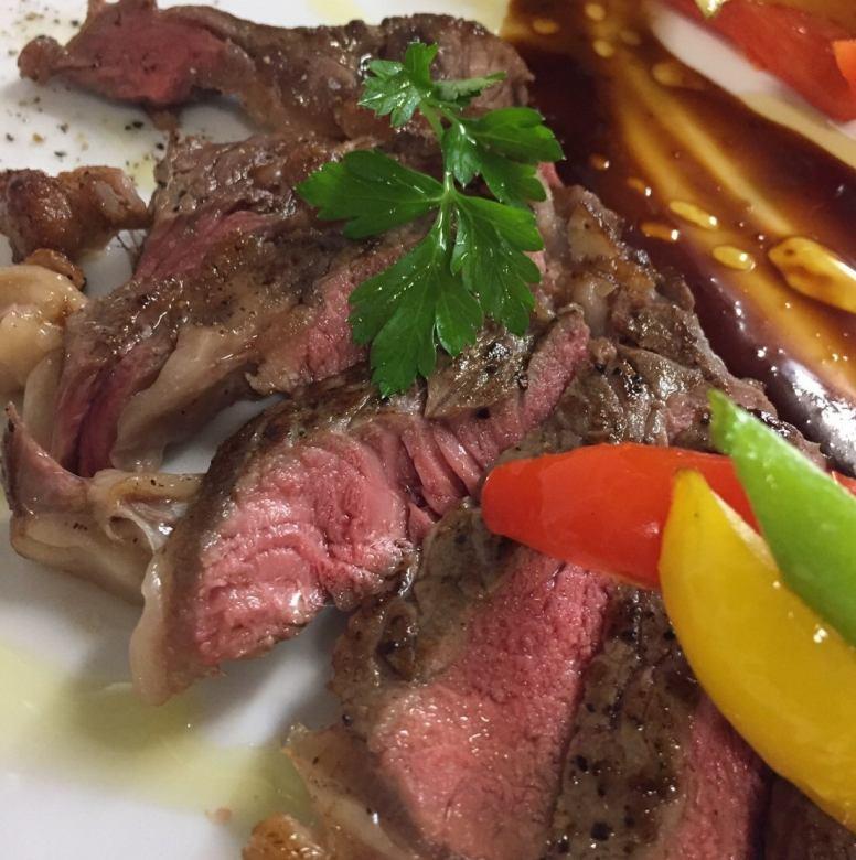 Beef loose Tariata ~ Hatcho miso sauce ~