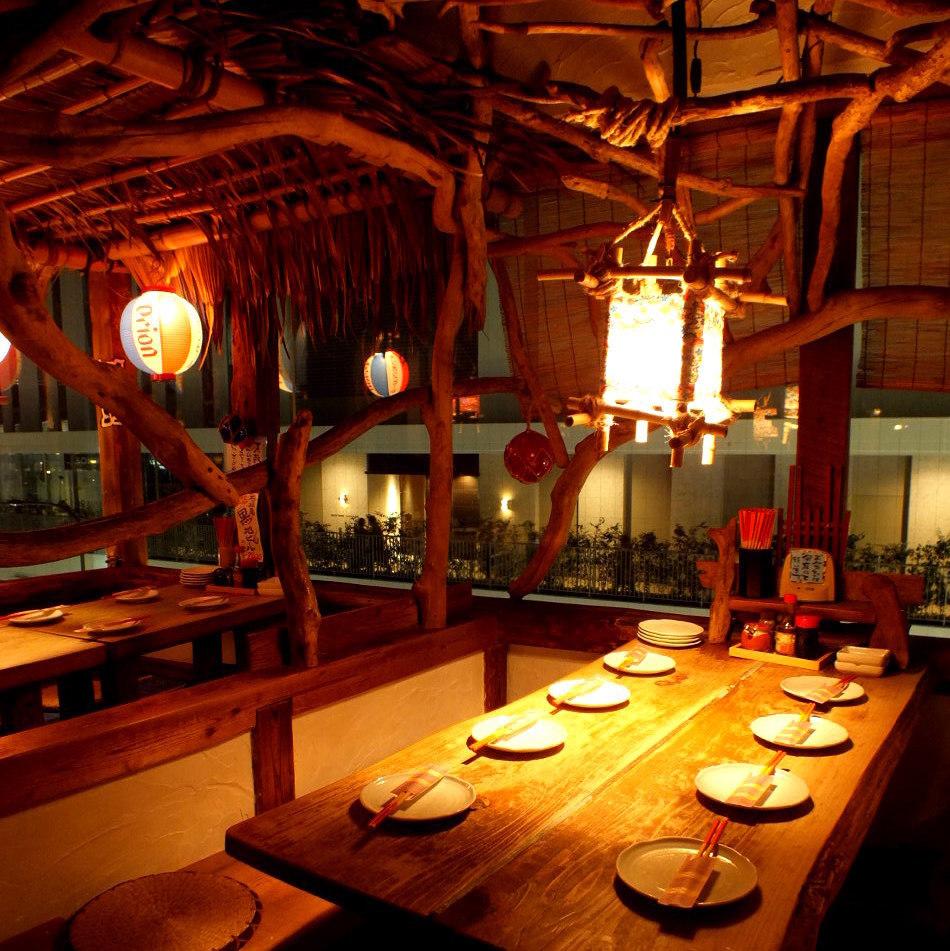 沖繩美食,同時俯瞰立川的夜景♪