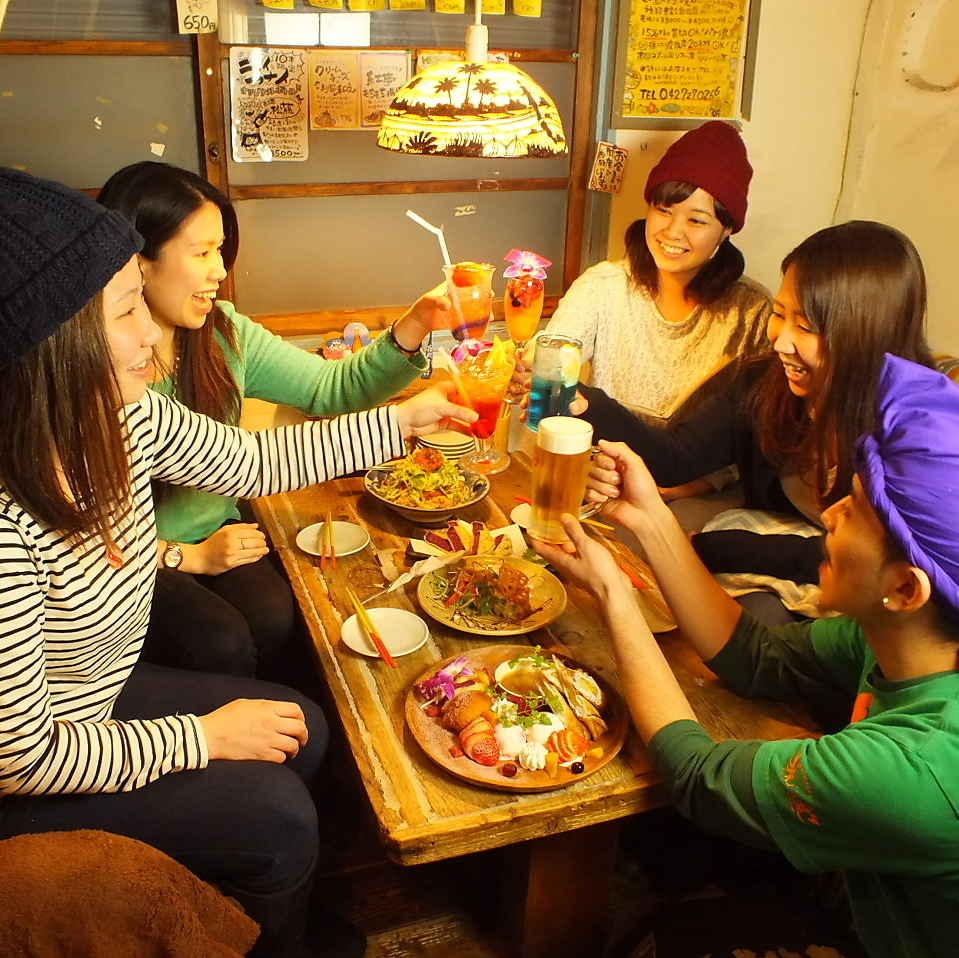 2980 yen girls party in Okinawa space ♪