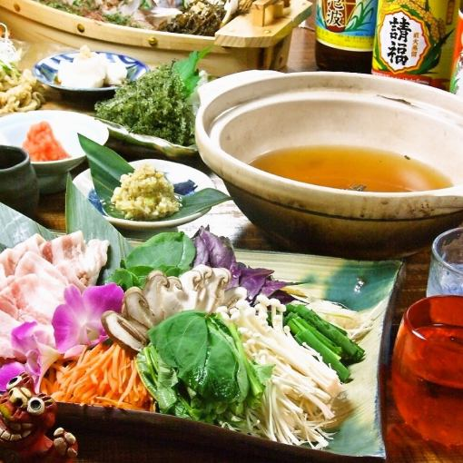 All day OK 【3 hours with all you can drink ☆ Ryukyu Dynasty Course】 14 items of Okinawa carefully selected delicious dishes 【7500 yen ⇒ 6500 yen】