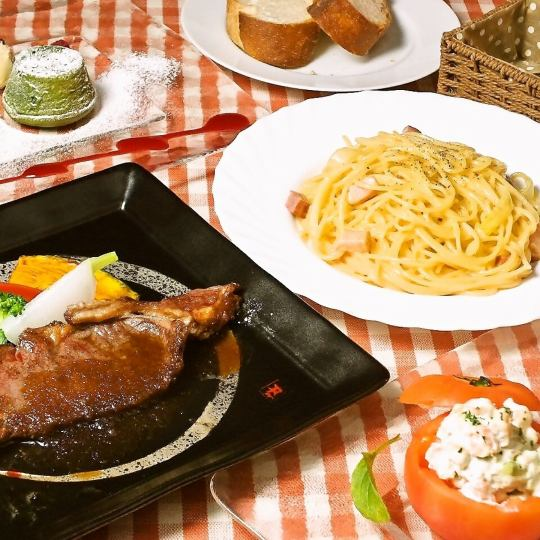 【Women's Special Menu ♪】 2 H with All-you-can-drink ★ Women's Association course 6 items 4000 yen (excluding tax)
