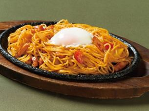 Iron plate Napolitan (noodles of warm balls)