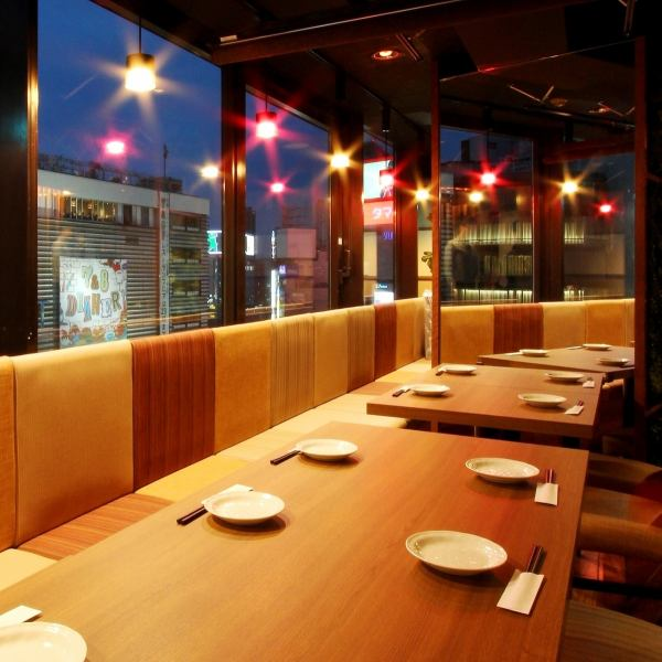 OK for up to 40 people OK! Privately rising Osaki private room.Space that you can use in various scenes such as drinking party, banquet, birthday party ♪
