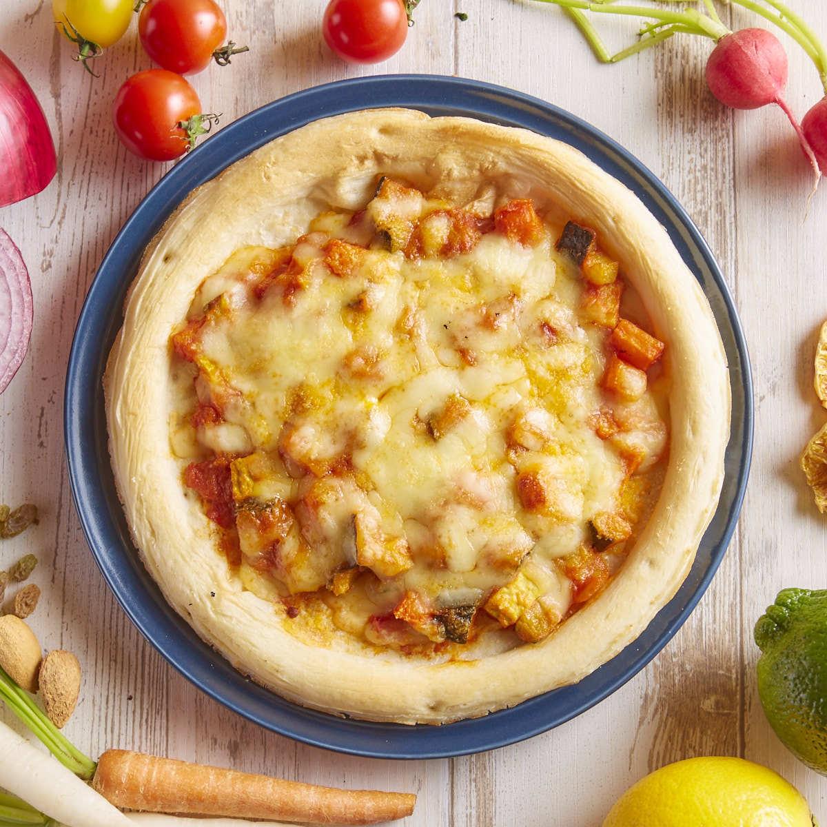 【蔬菜】Ortrana披萨