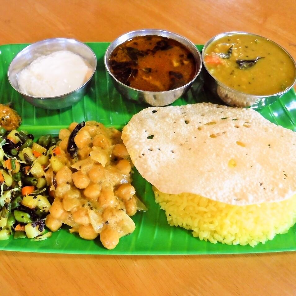 南インド定食セット