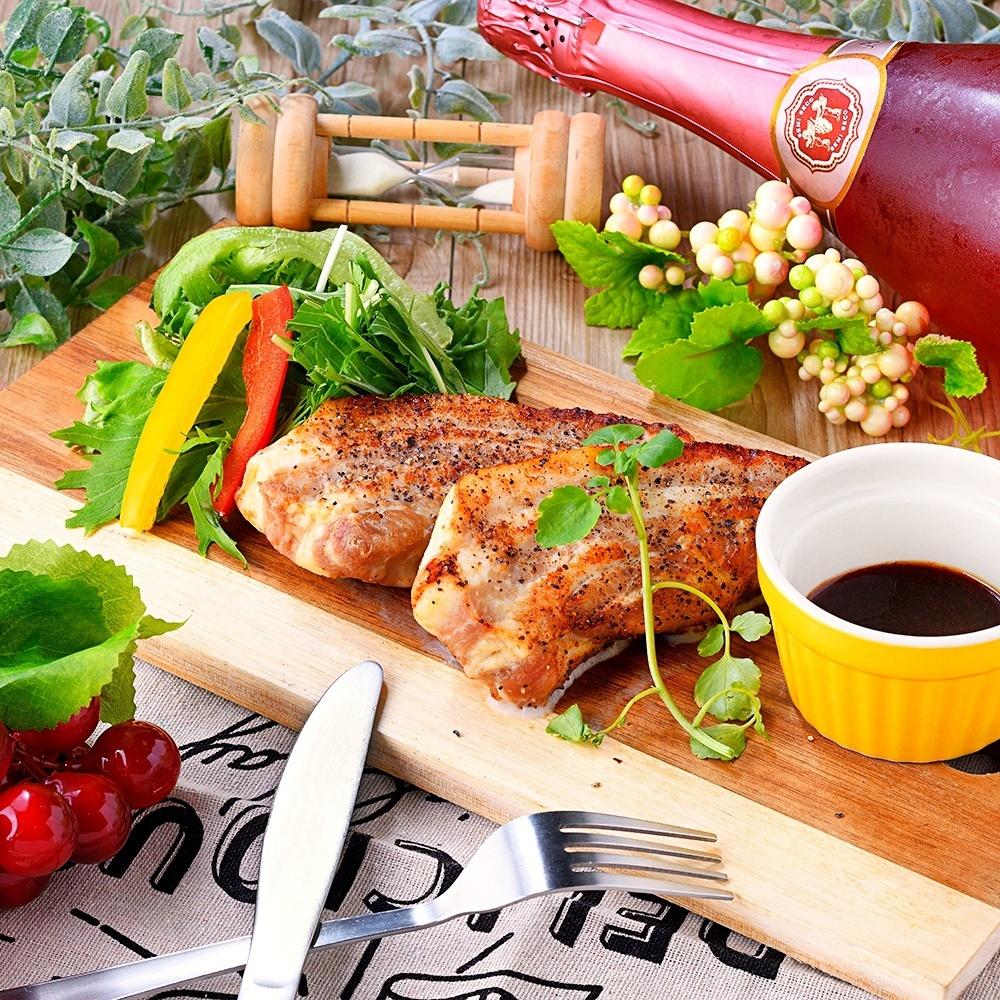 Three yuan pig sticky steak