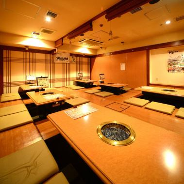 Recommended digging seats for various banquets! Information for 4 people ~ 28 people ♪ Loose sitting ♪